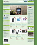 Prestashop responsive theme - Bio Green