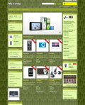 Prestashop responsive theme - Green king