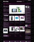 Prestashop responsive theme - Dark violet