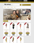 Prestashop responsive theme - Golden shop