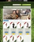 Prestashop responsive theme - Green art