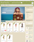 Prestashop responsive theme - Dream Vacation