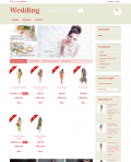 Prestashop responsive theme - Lovely Wedding