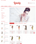 Prestashop responsive theme - Lovely
