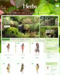 Prestashop responsive theme - Herbs