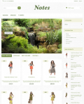 Prestashop responsive theme - Notes