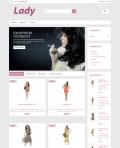 Prestashop responsive theme - Lady