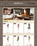 Prestashop responsive theme - Old House