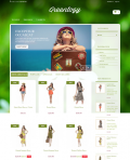 Prestashop responsive theme - Greenlogy