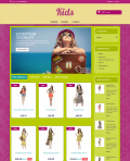Prestashop responsive theme - Kids