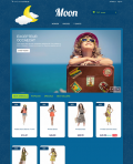 Prestashop responsive theme - Moon