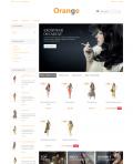 Prestashop responsive theme - Orange
