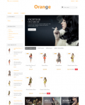 Prestashop responsive theme - Orange