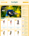 Prestashop responsive theme - Sunlight