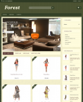 Prestashop responsive theme - Forest