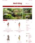 Prestashop responsive theme - Red Kind