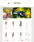 Prestashop responsive theme - Spring