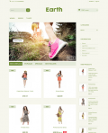Prestashop responsive theme - Earth