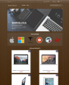 Prestashop responsive theme - Apple Wood