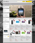 Prestashop responsive theme - Black and white photo