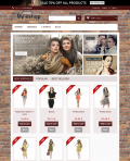 Prestashop responsive theme - Brick wall