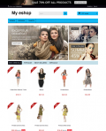 Prestashop responsive theme - Simple blue