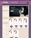 Prestashop responsive theme - Stella Secret