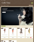Prestashop responsive theme - Coffee Time