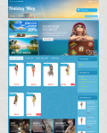 Prestashop responsive theme - Holiday Way