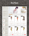Prestashop responsive theme - Surface