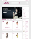 Prestashop responsive theme - Lady
