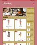 Prestashop responsive theme - Pastels