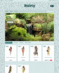Prestashop responsive theme - Rainy