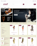 Prestashop responsive theme - Wall