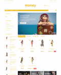 Prestashop responsive theme - Honey
